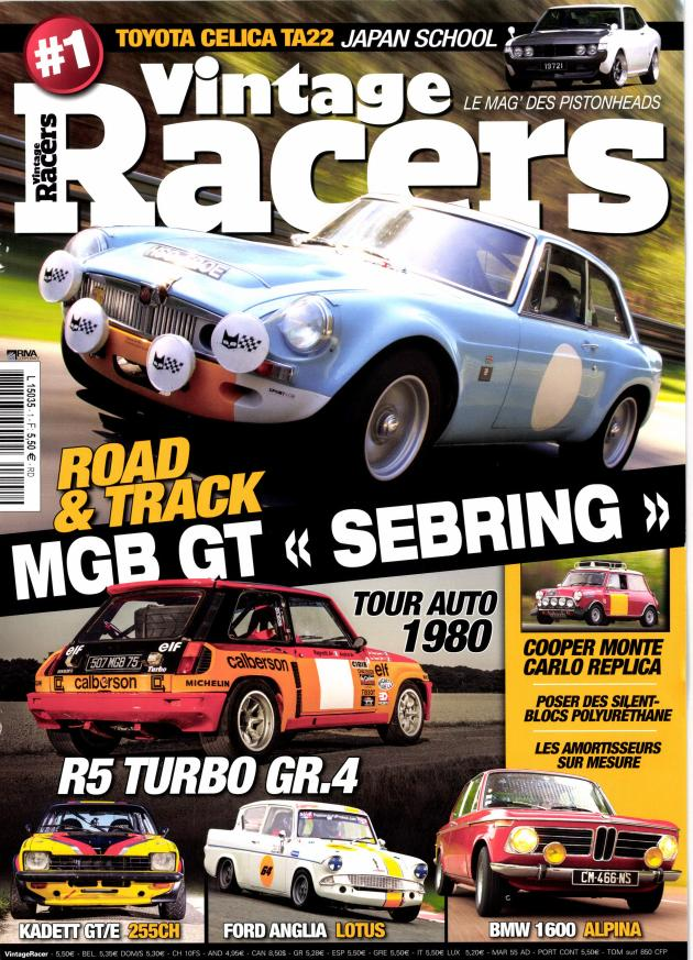 VIntage Racers Cover