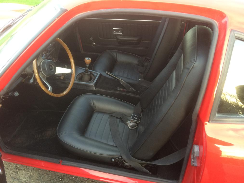 1970 Opel GT 1.9 interior